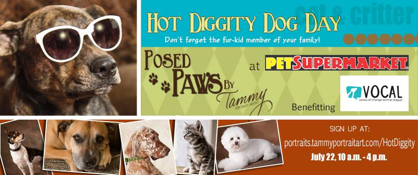 Hot Diggity Dog Day   Voices of Change Animal League